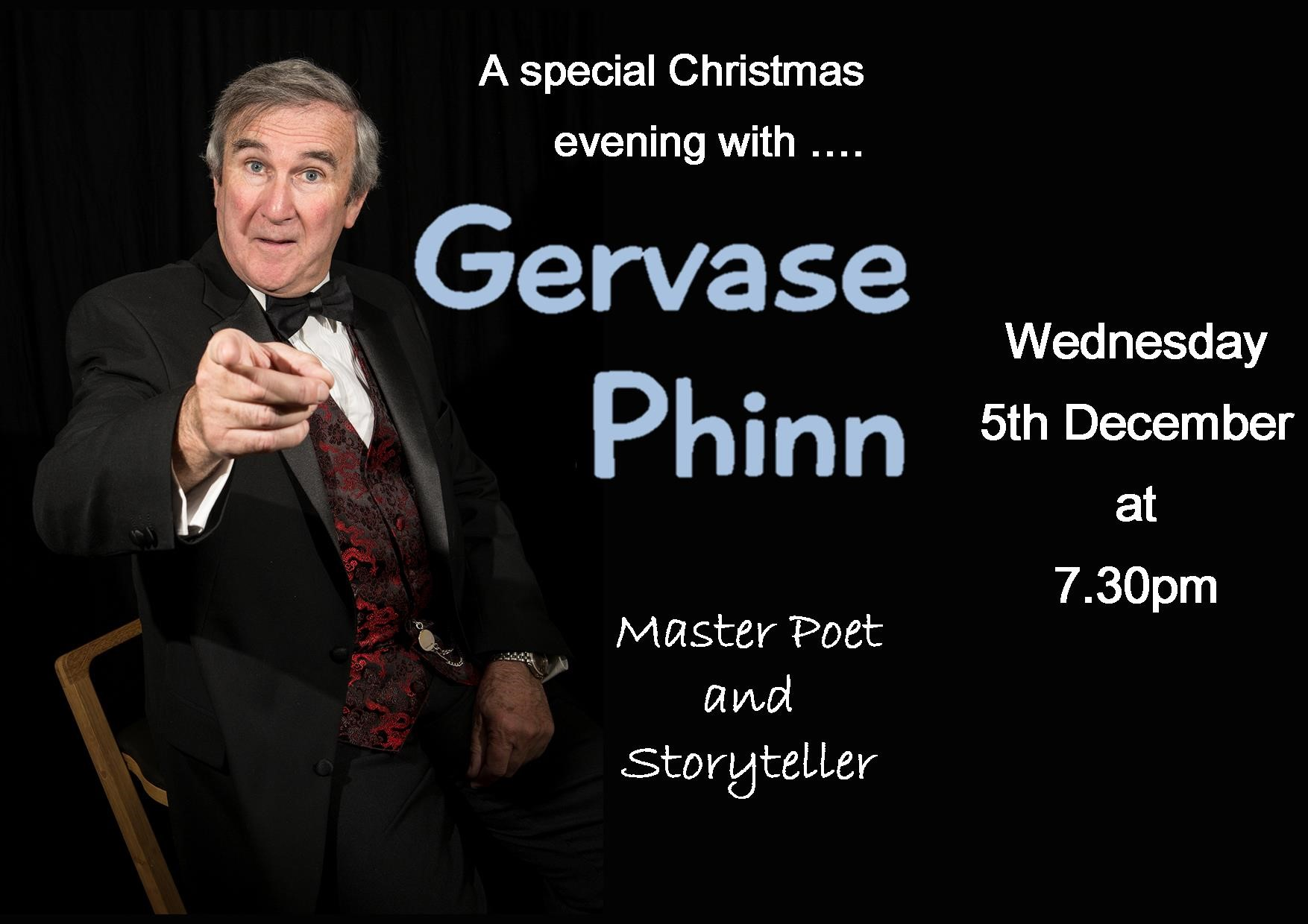 A Special Christmas Evening with Gervase Phinn