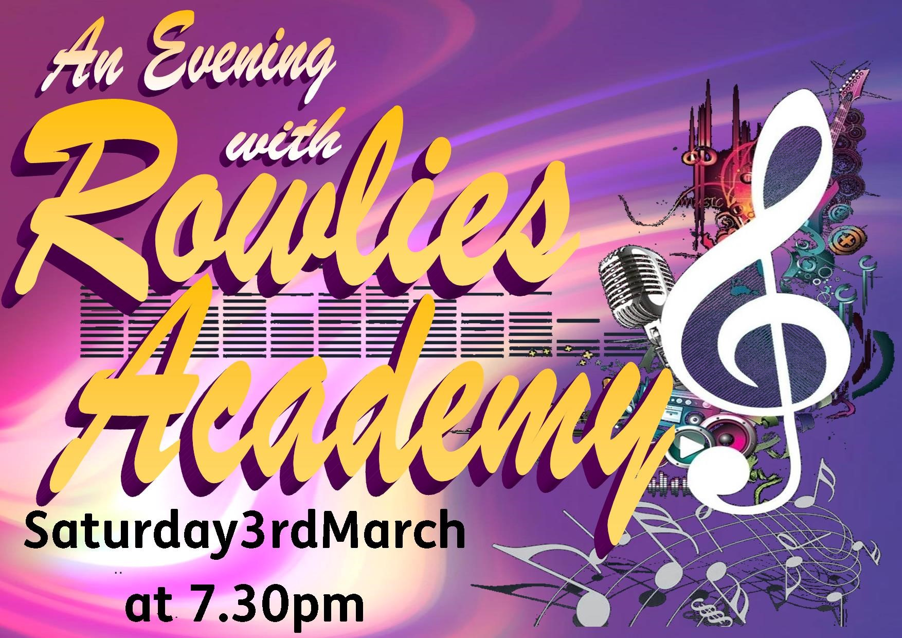 An Evening with Rowlies Academy