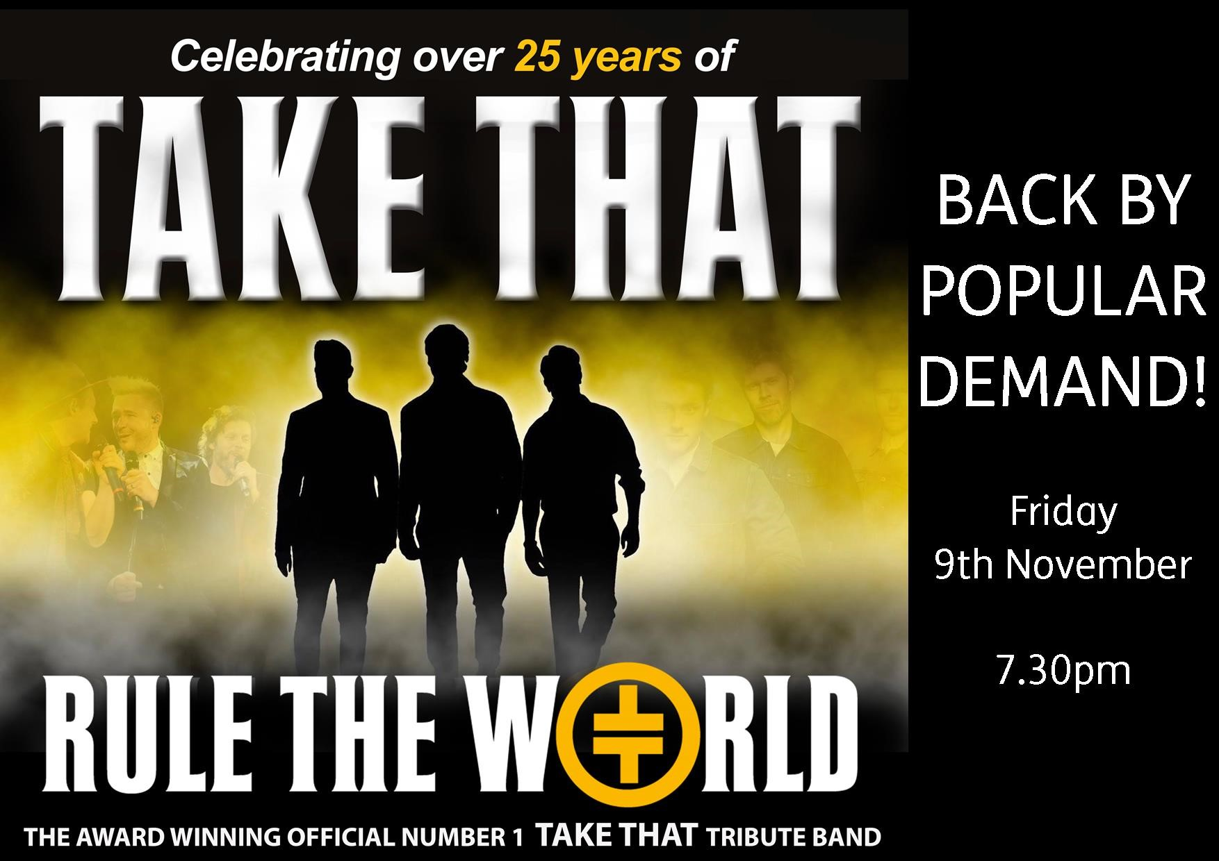 Celebrating over 25 Years of TAKE THAT