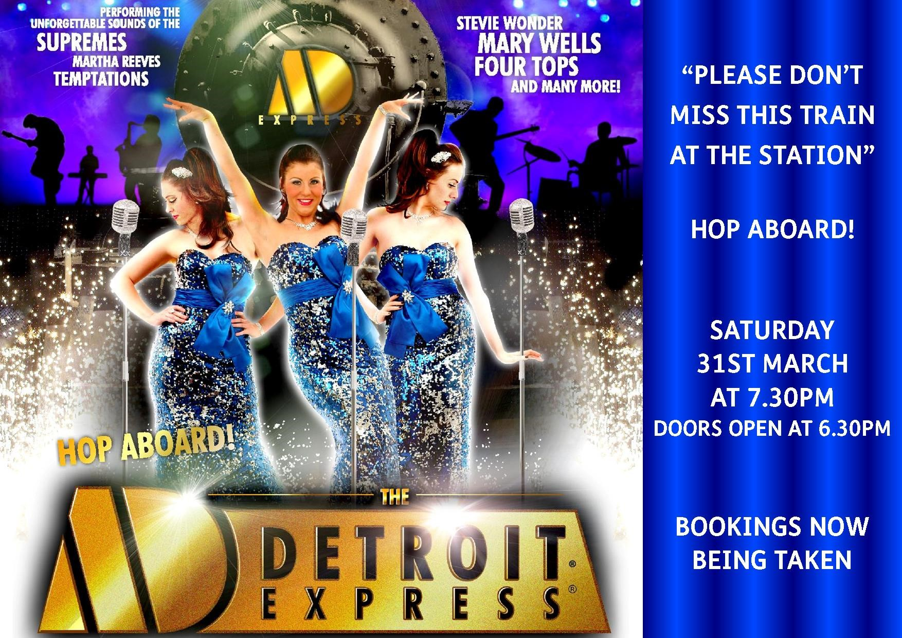 Detroit Express Motown Legends