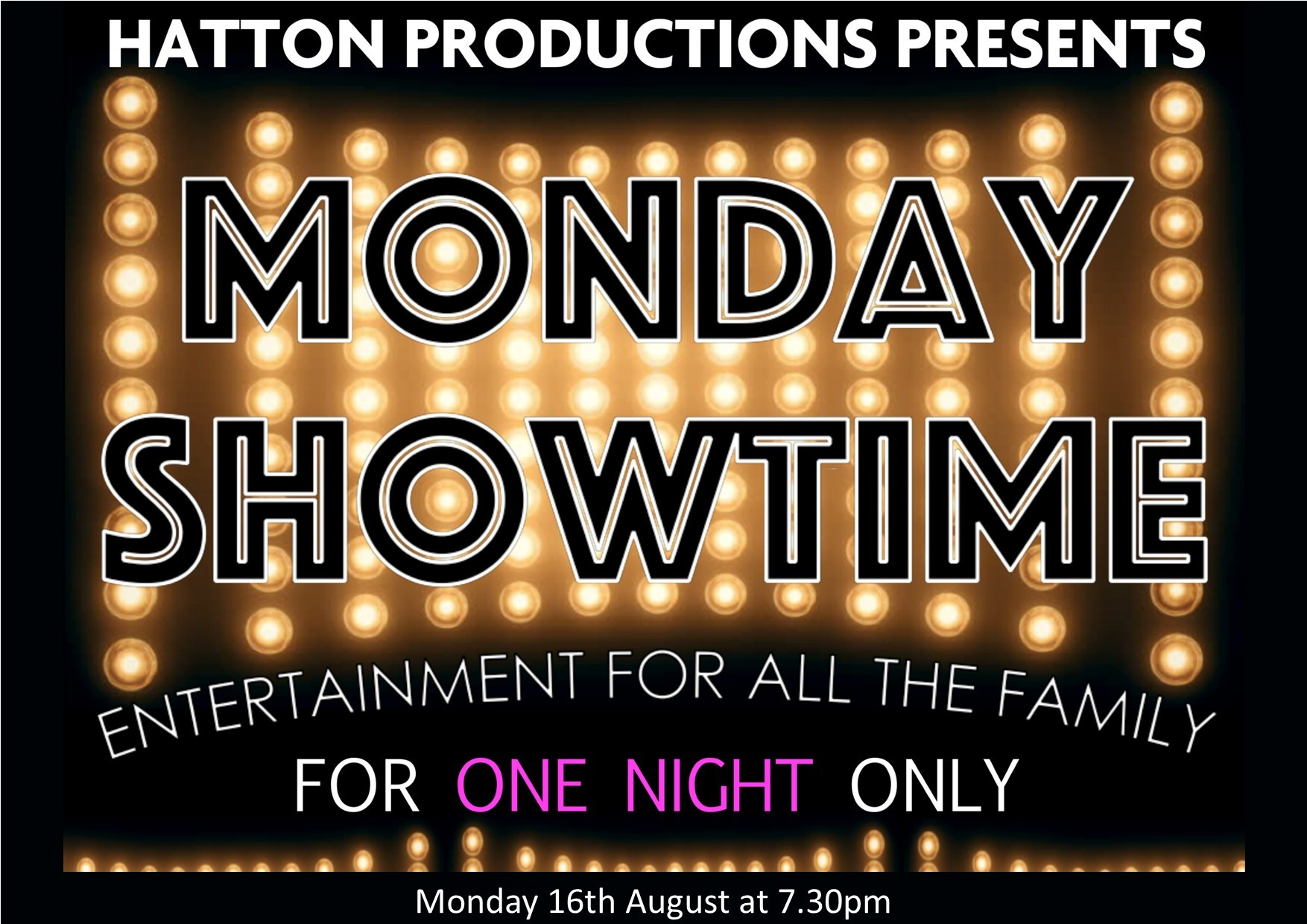 Monday Showtime