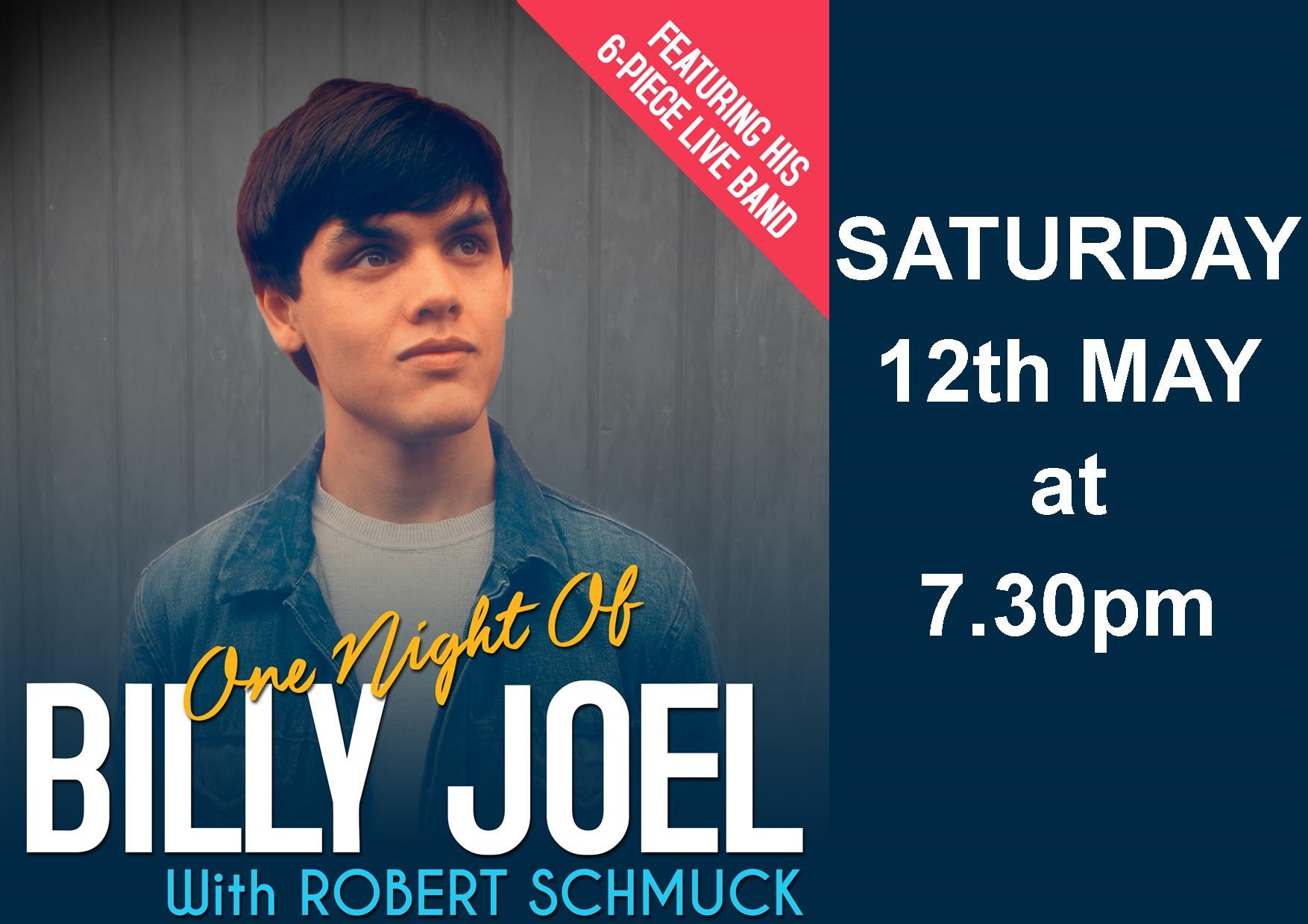 One Night of Billy Joel with Robert Schmuck