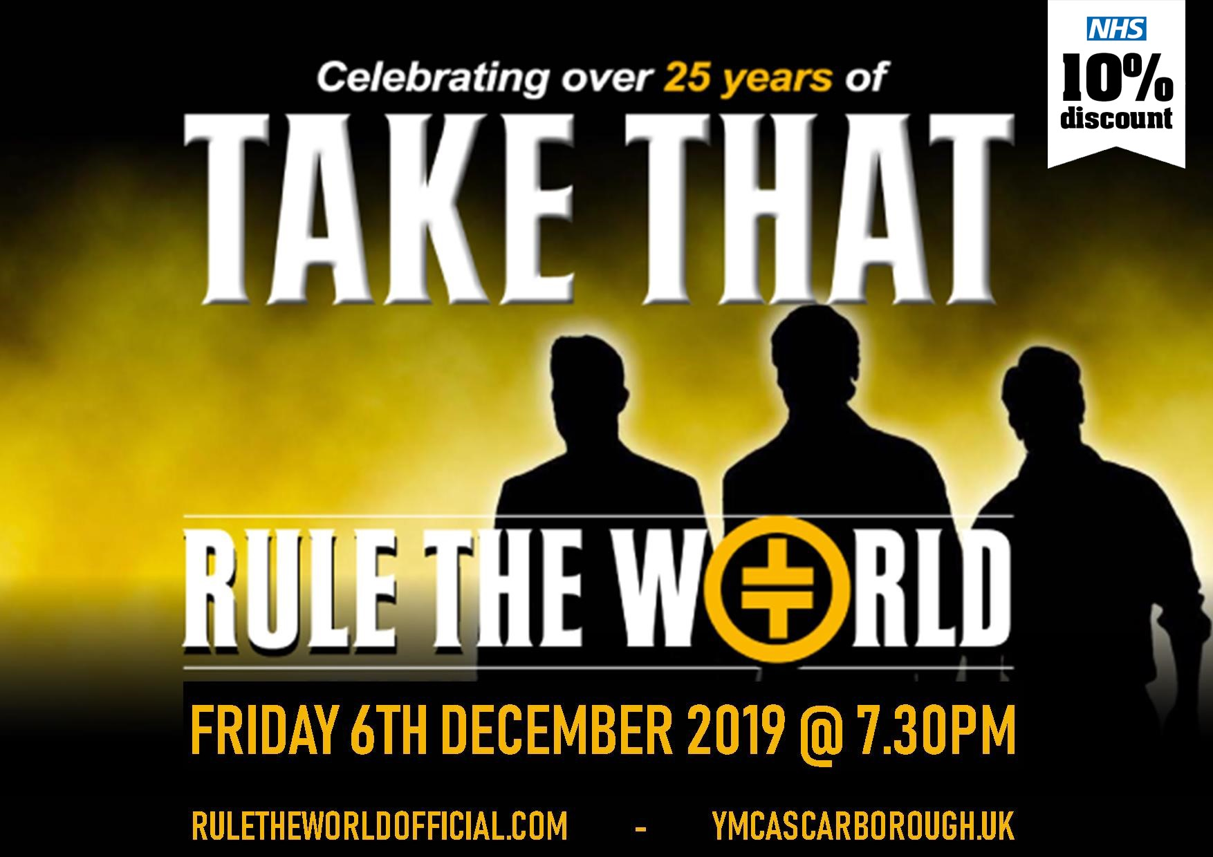 RULE THE WORLD - Official Number 1 TAKE THAT Tribute Band