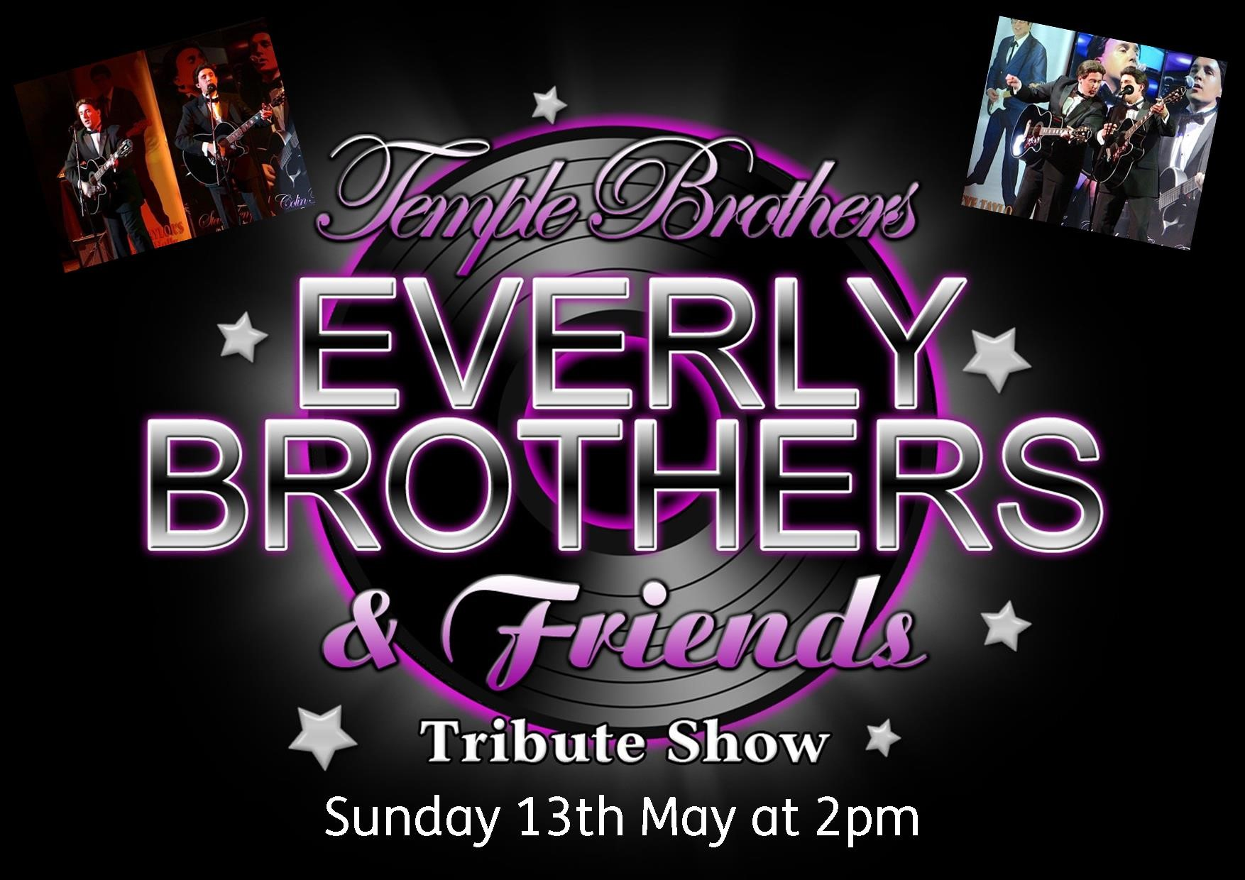 The Temple Brothers as the Everly Brothers